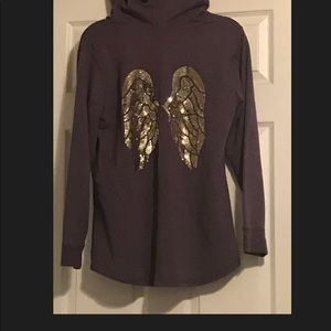 Victoria's Secret hooded tunic sweatshirt